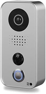 DoorBird IP video door station D101S, Polycarbonate housing, Strato-Silver Edition