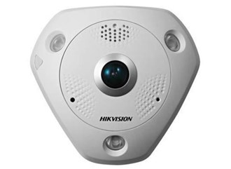 HIKVISION 6MP IP66 IR FISHEYE WITH AUDIO & I/O