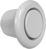 Internal Siren Round Flush Mount with Chime