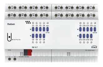 RM 16 S KNX 16-way switching actuator(16 channel relay)
