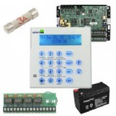 KIT-OMNI-RETRO includes Omni  retro security controller,alarm keypad,battery,4 relay module,24v transformer and power plug